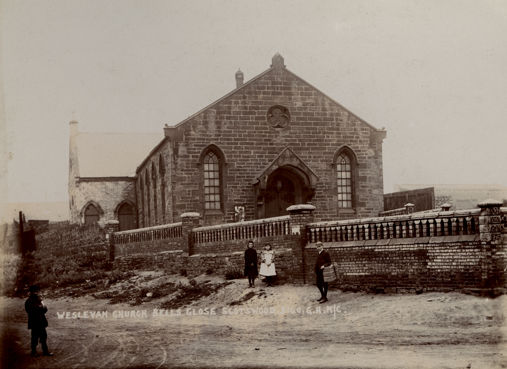 Wesleyan Methodist Church, Bell's Close, Scotswood