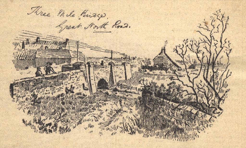 Three Mile Bridge, Great North Road, Newcastle upon Tyne