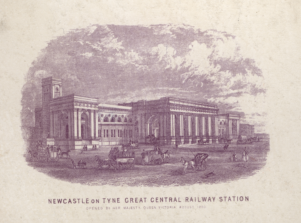 Newcastle on Tyne Great Central Railway Station