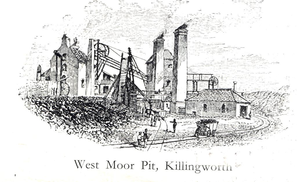 West Moor Pit, Killingworth
