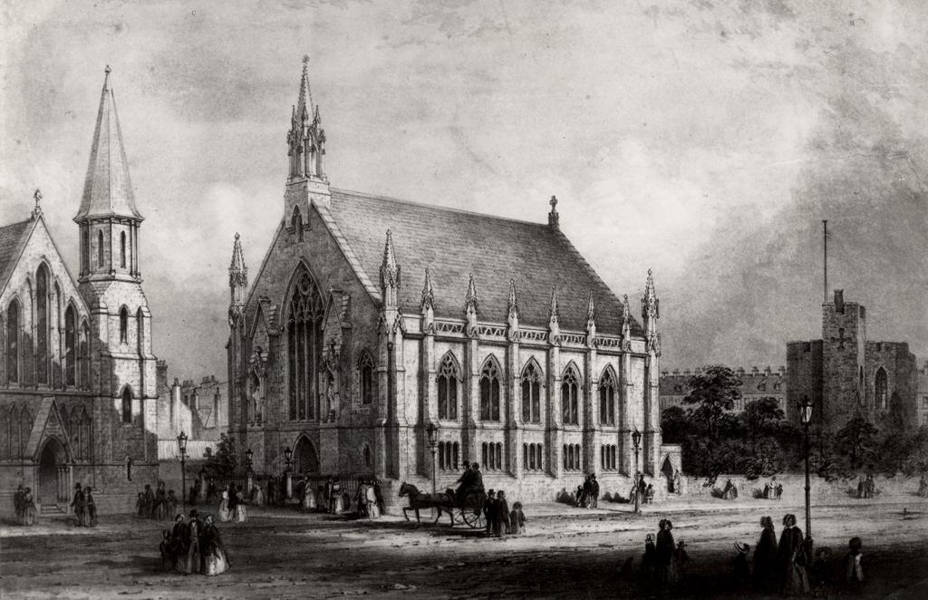 Unitarian Church, New Bridge Street, Newcastle upon Tyne