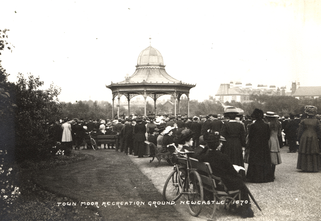 Exhibition Park, Spital Tongues, Newcastle upon Tyne