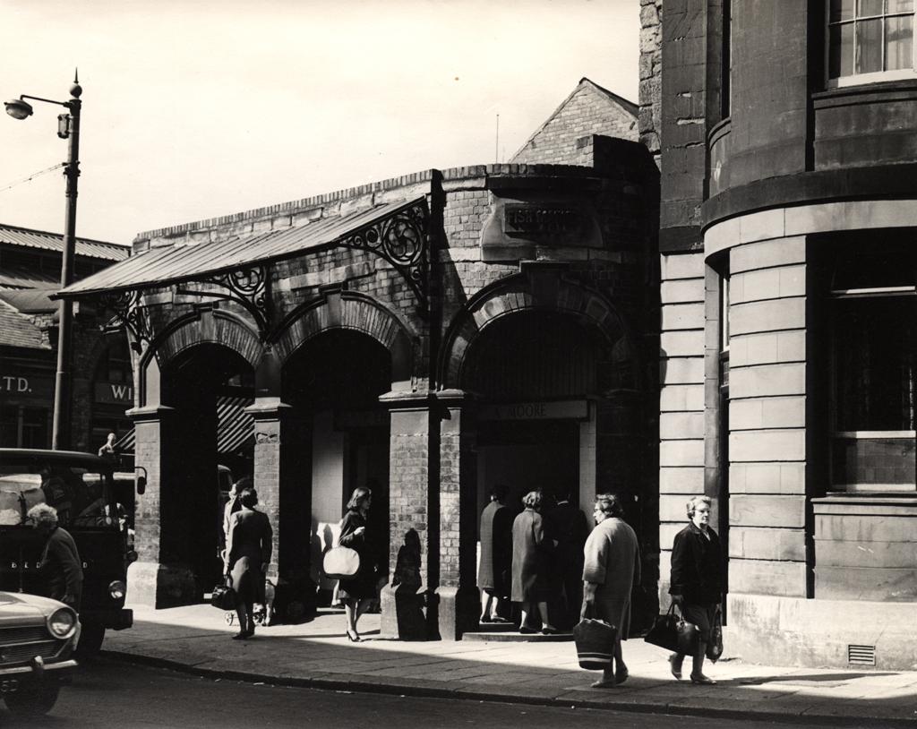 Fish Market, Clayton Street/St. Andrew's Street, Newcastle upon Tyne