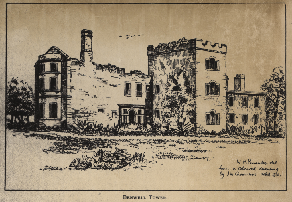 Benwell Tower, Benwell Lane, Benwell