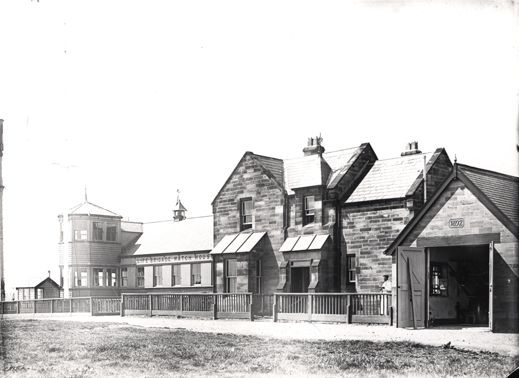 Old Life Brigade Watch Station, Tynemouth