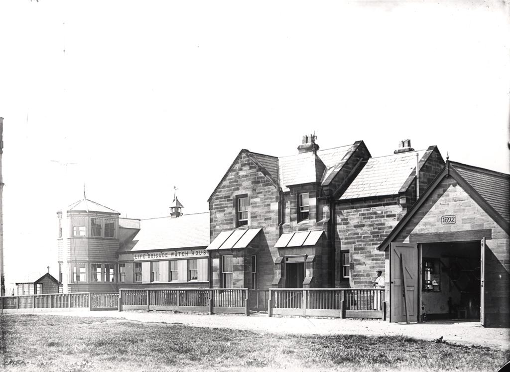 Old Life Brigade Watch Station, Tynemouth