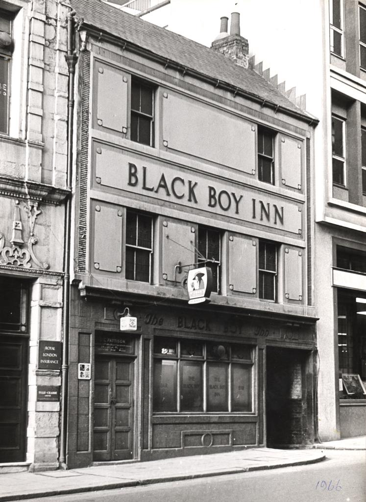 Black Boy Inn, Groat Market