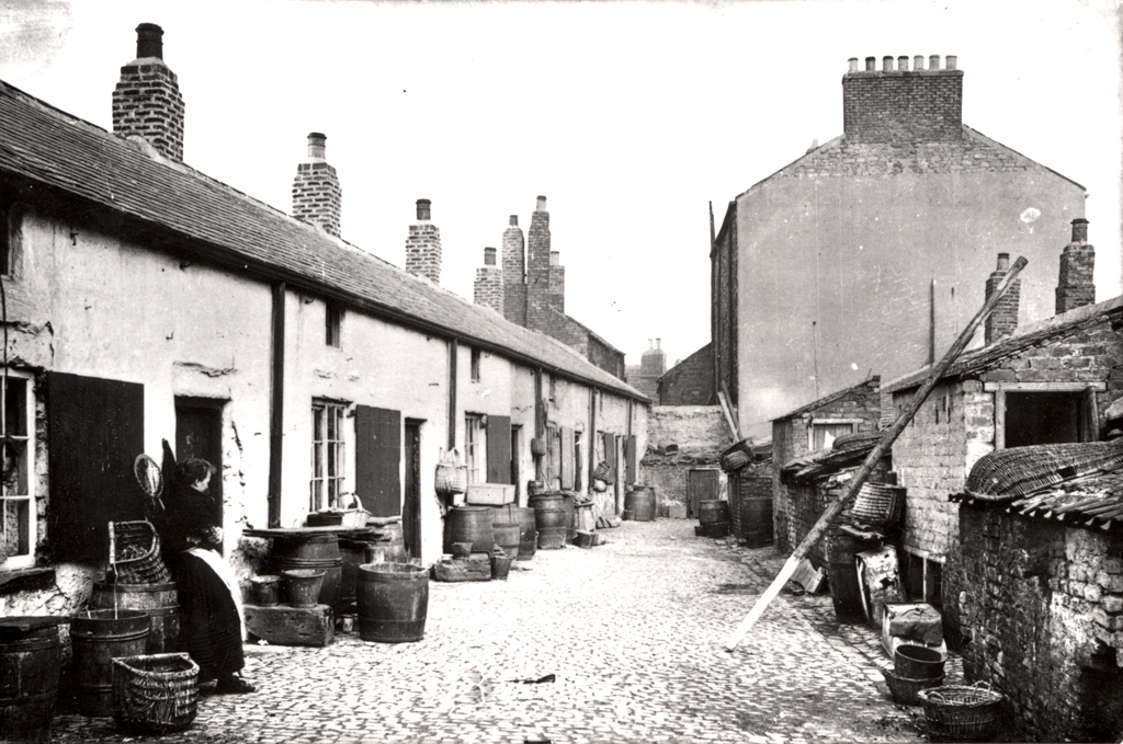 Brown's Buildings, Fishermen's Cottages, Cullercoats