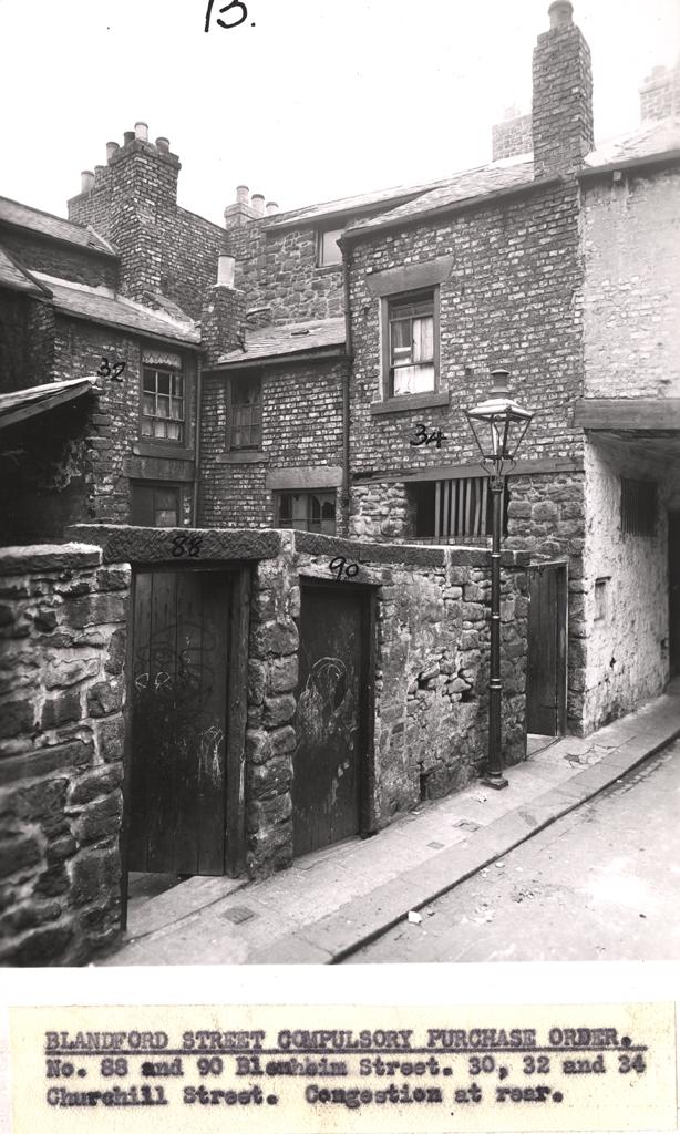 Blenheim Street/Churchill Street, Newcastle upon Tyne