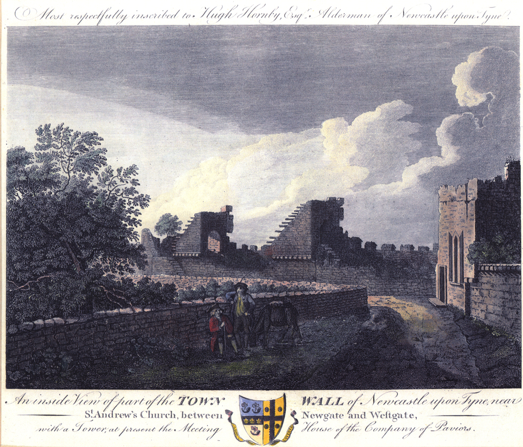 West part of Town Wall