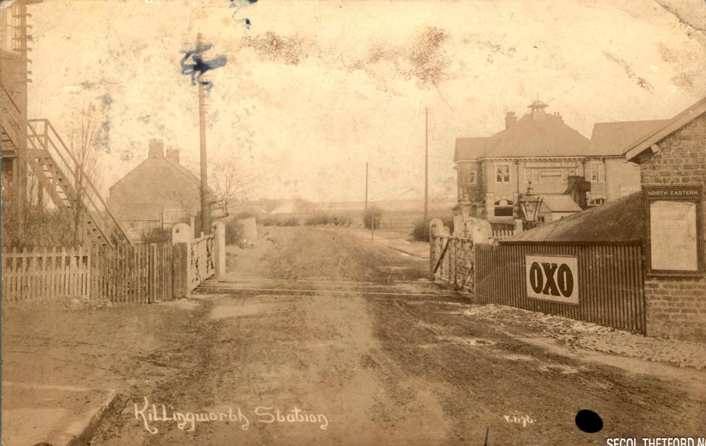 Killingworth Railway Station Crossing