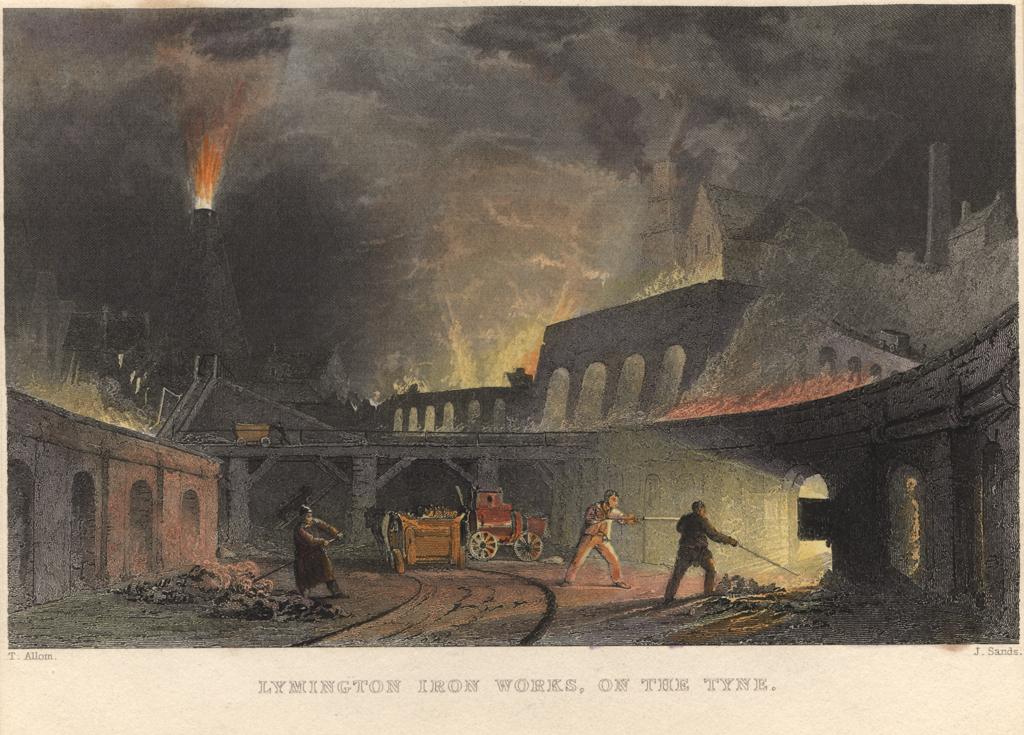 Lyminton Iron Works on the Tyne