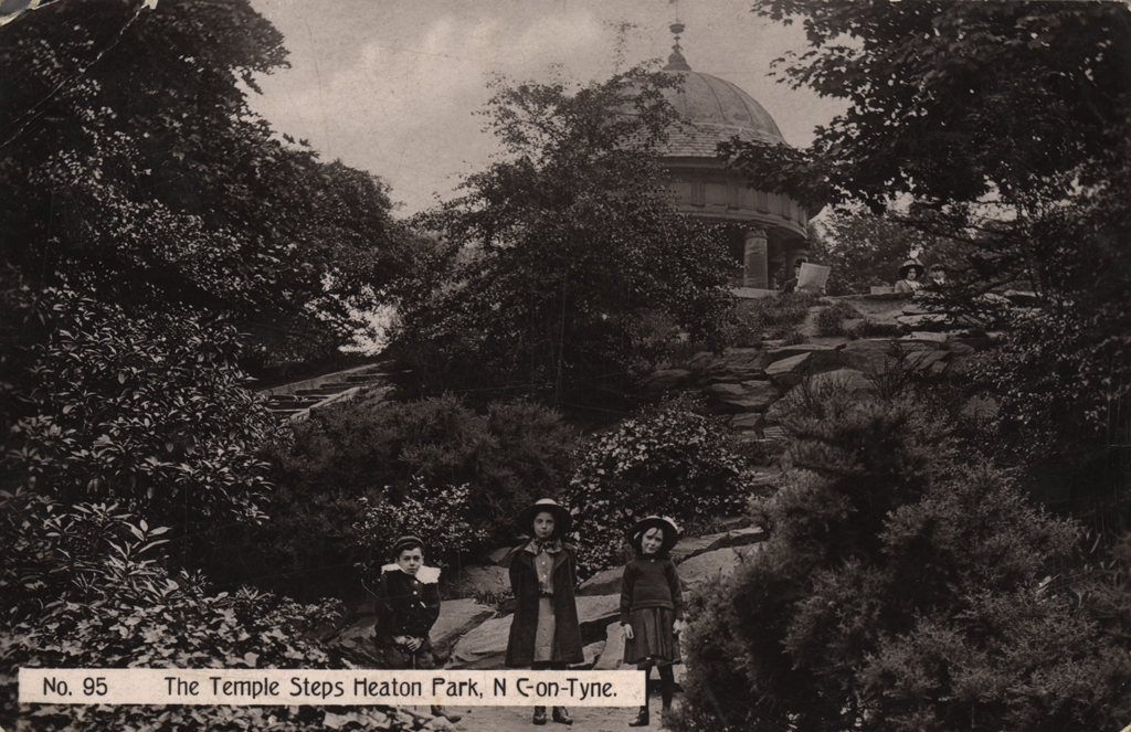 The Temple Steps, Heaton Park, Newcastle upon Tyne