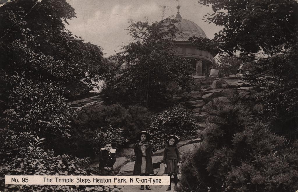 The Temple Steps, Heaton Park, Newcastle upon Tyne