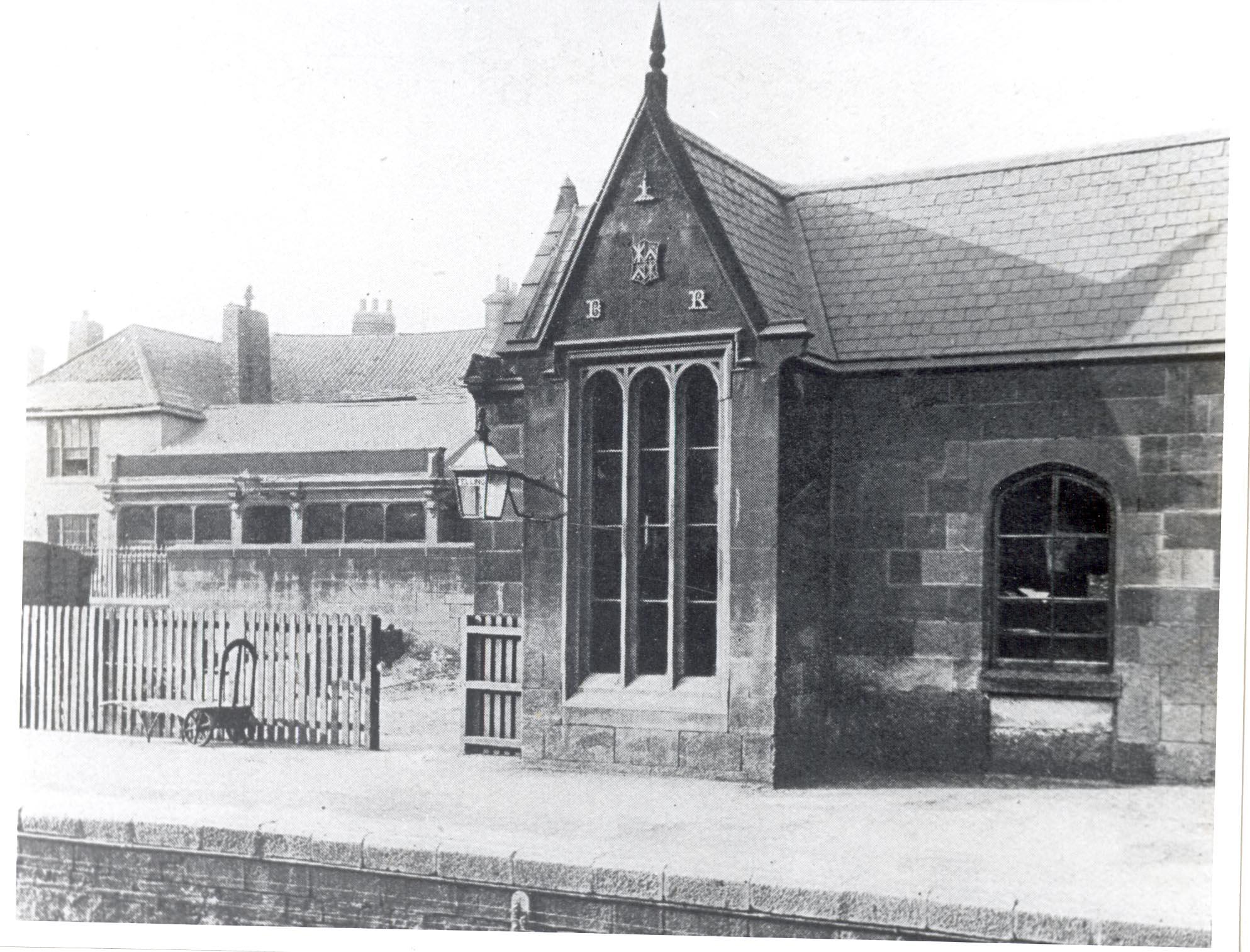 Brandling Station, Felling