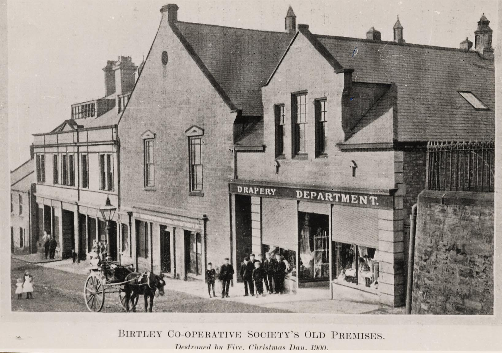 Old Co-operative Store, Durham Road, Birtley