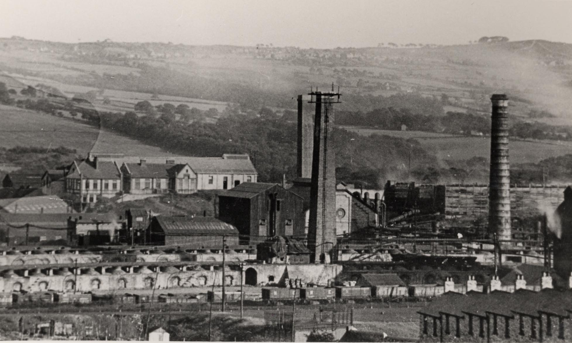 Whinfield Coke Works, Rowlands Gill