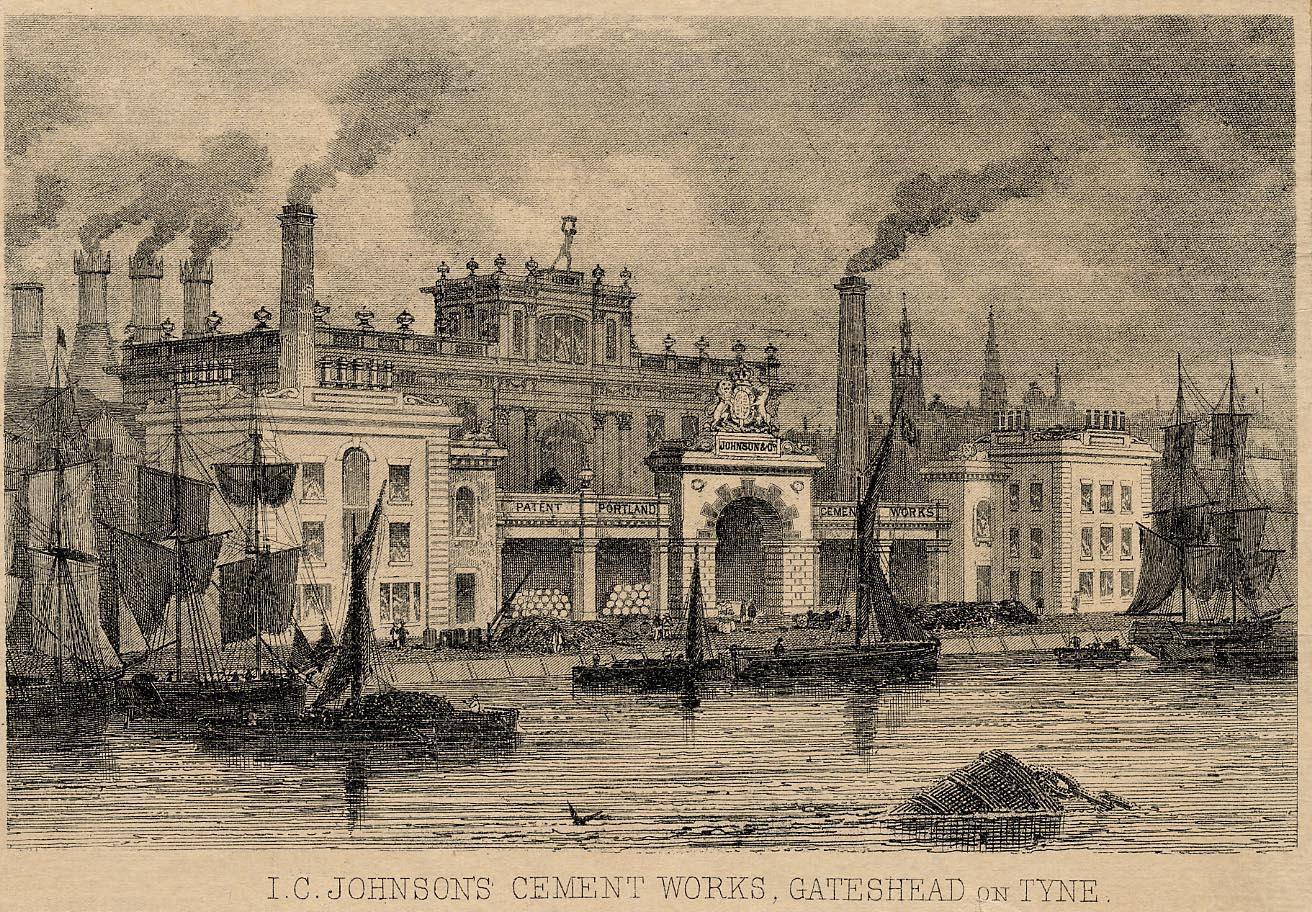 I.C. Johnson & co, Cement Works, Gateshead