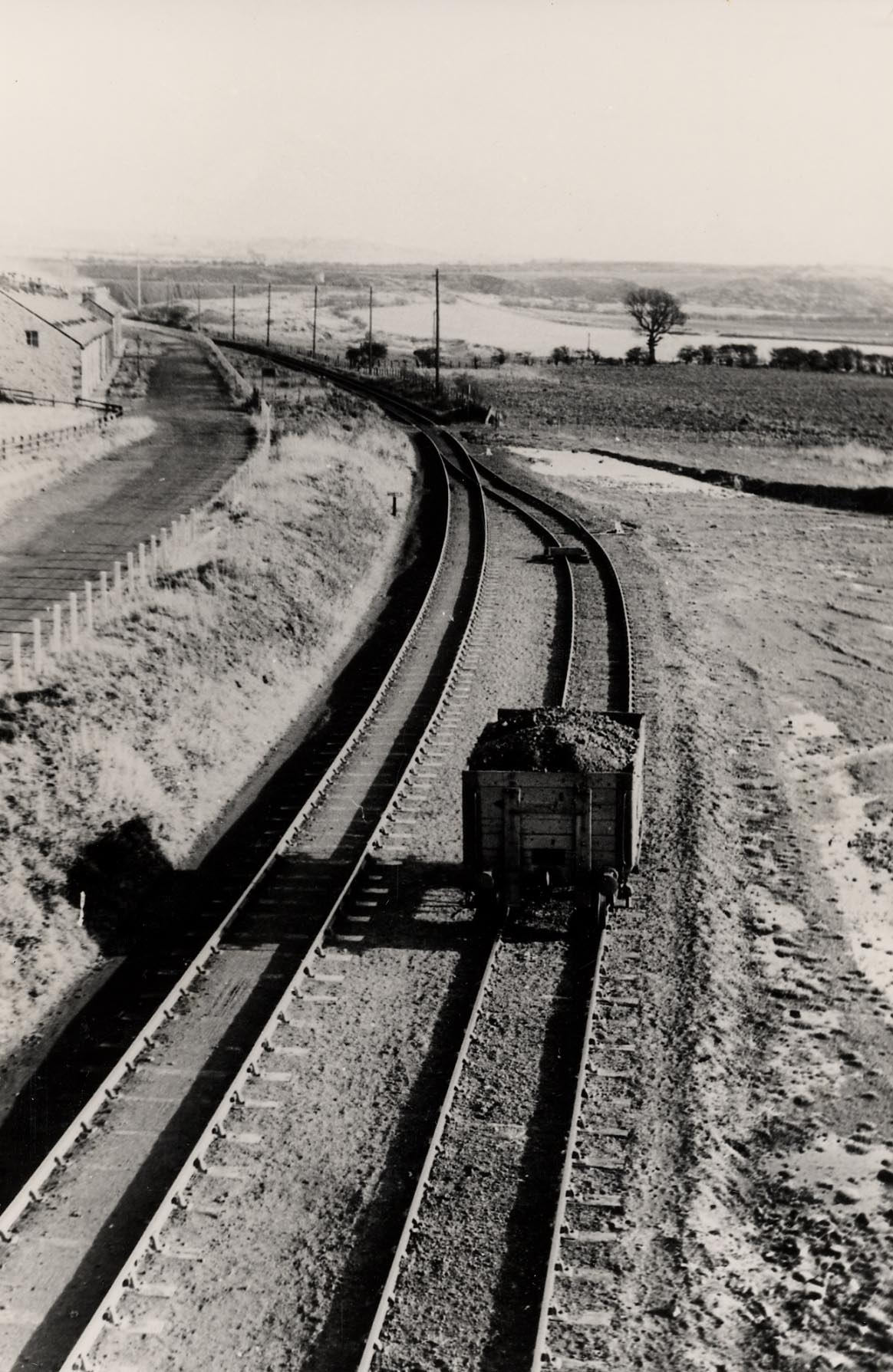 Main line between Byermoor and Marley Hill