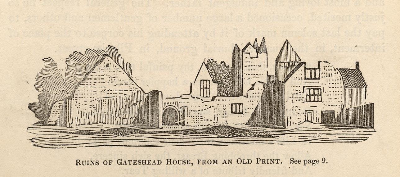 Gateshead House - ruins