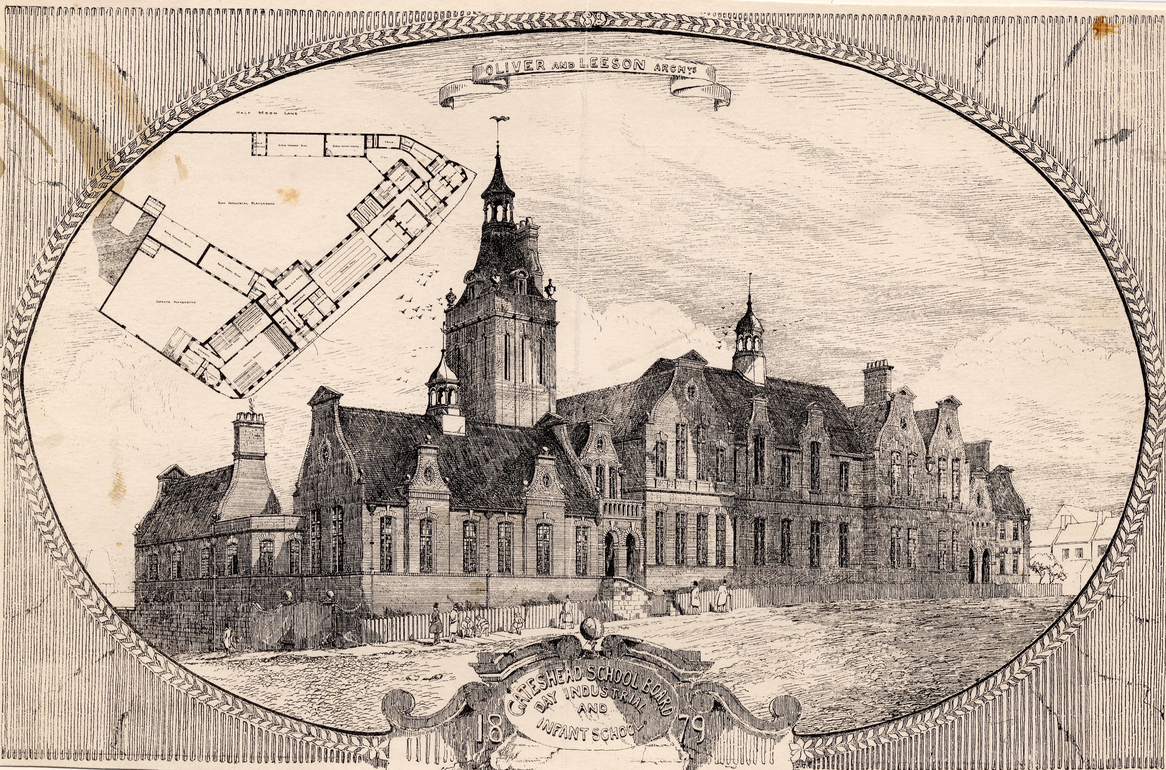 Windmill Hills Day Industrial School, Gateshead