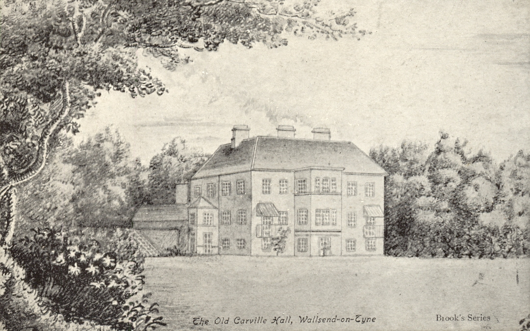 Old Carville Hall, Wallsend