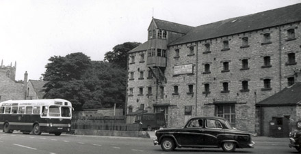 The Old Brewery building in Houghton