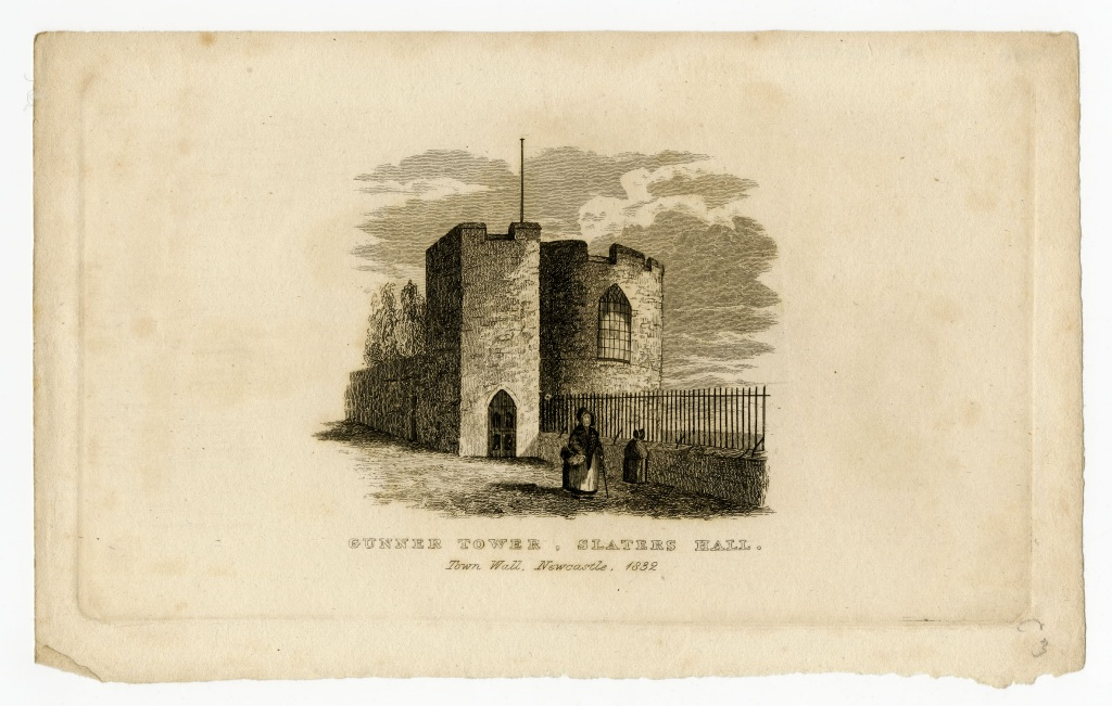 Gunner Tower, Slaters Hall, Town Wall, Newcastle
