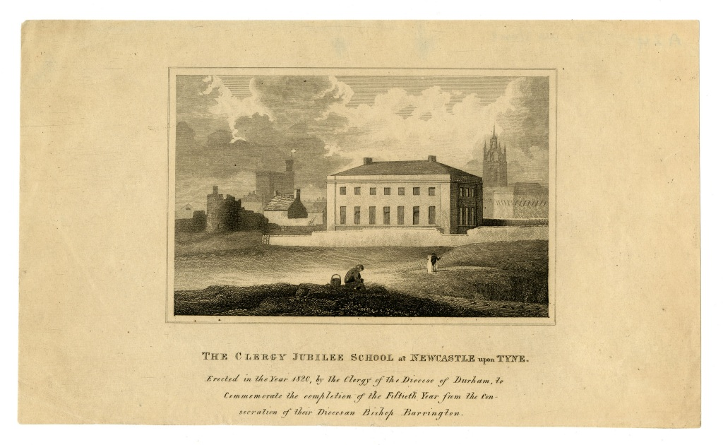 The Clergy Jubilee School at Newcastle upon Tyne