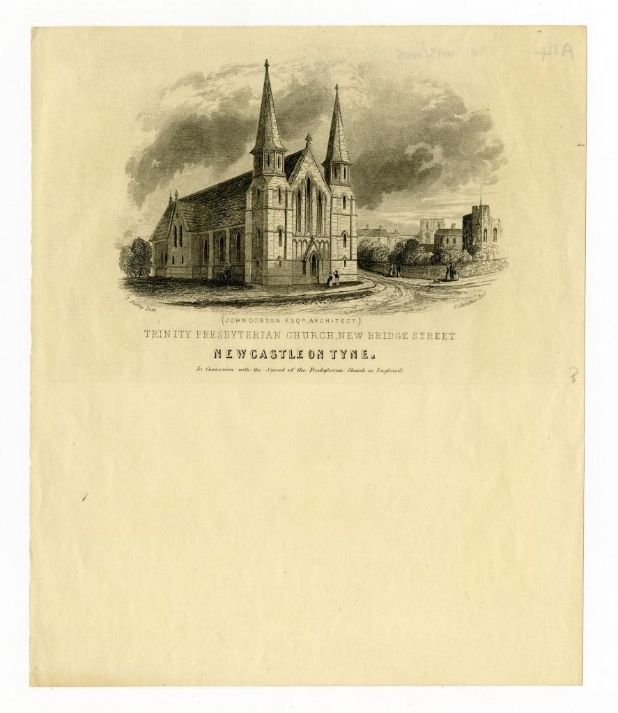 Trinity Presbyterian Church, New Bridge Street, Newcastle upon Tyne