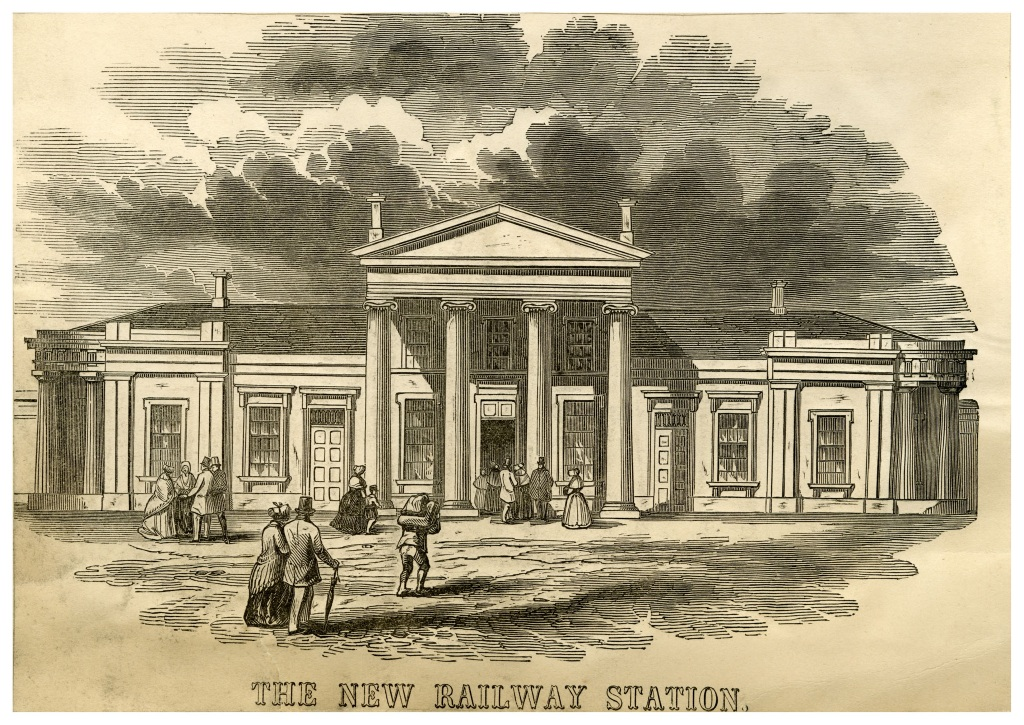 The New Railway Station