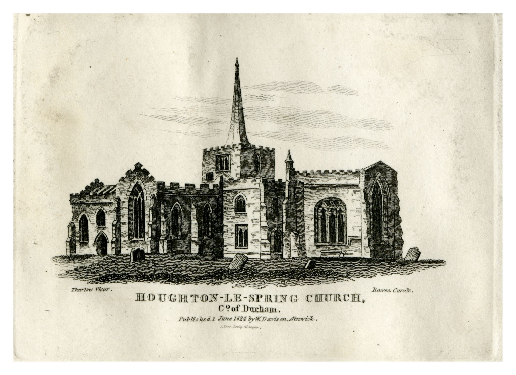 Houghton-le-Spring Church, County of Durham