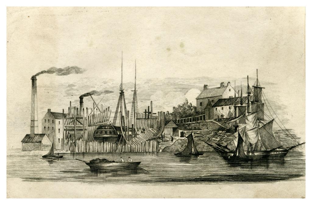 Sunderland, Laing's building yard (shipping)